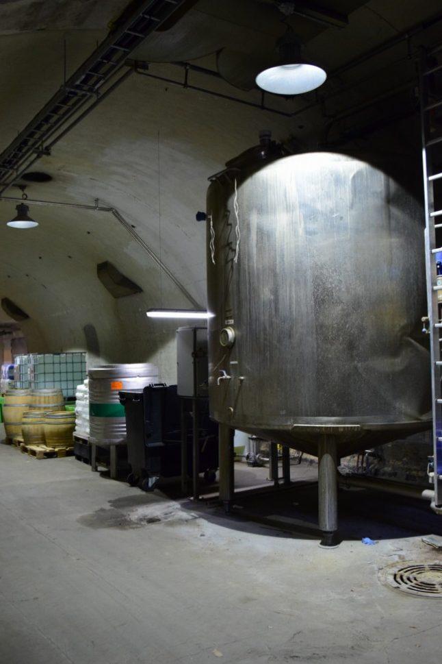 주조 장비는 숨겨진 지하실에서 찾을 수 있다. 늘 일정한 온도를 유지하기 위해서다 (사진: 탄야 닐슨)