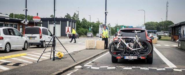 Rødbyhavn 인근 국경 통제 (출처: 플리커 CC BY News Oresund)