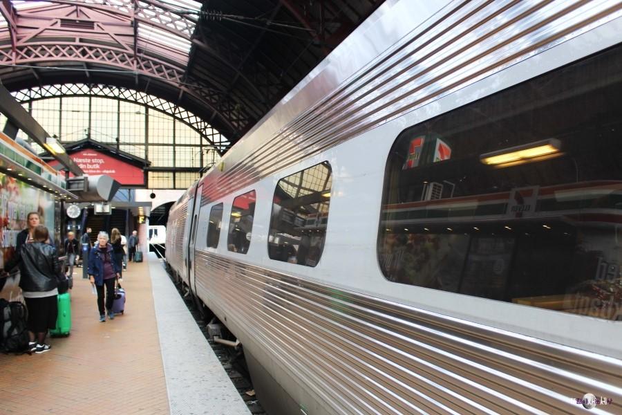 코펜하겐 중앙역 기차 승강장(사진: 조혜림)