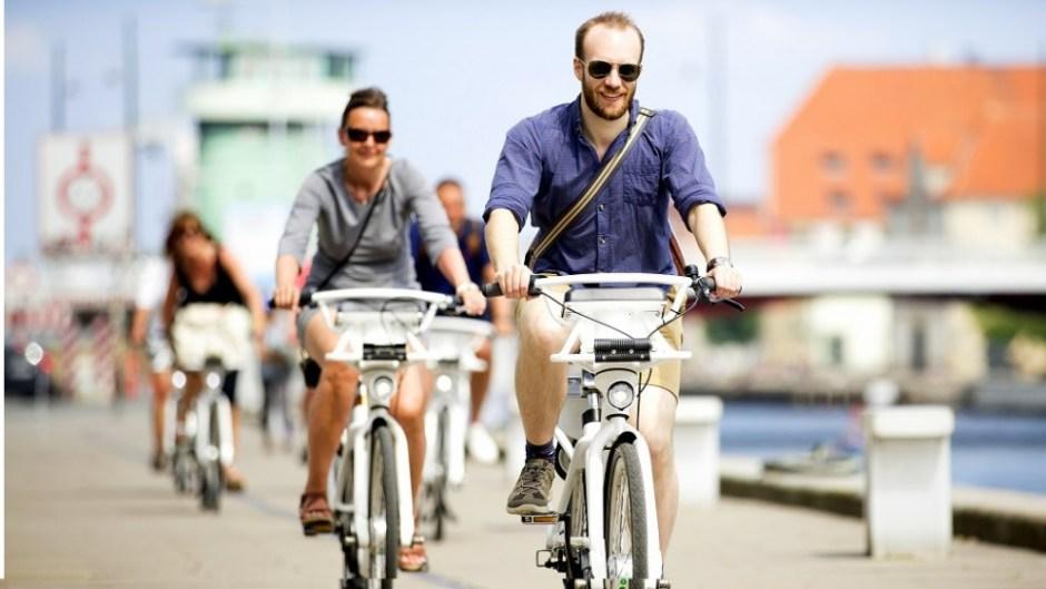 코펜하겐 공공 임대 자전거인 시티 바이크 (출처: Visit Copenhagen)