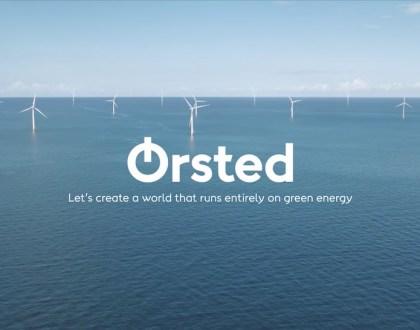 덴마크 최대 발전사 동에너지가 친환경 에너지 회사로 탈바꿈하며 사명을 외르스테드로 바꾼다고 10월2일 발표했다 (외르스테드 제공)