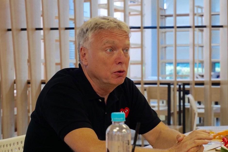 우페 엘베크(Uffe Elbæk) 대안당 대표 (사진: 안상욱)