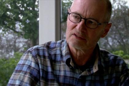 덴마크를 대표하는 표현주의 화가 페르 키르케뷔(Per Kirkeby) (루이지애나미술관 영상 갈무리)