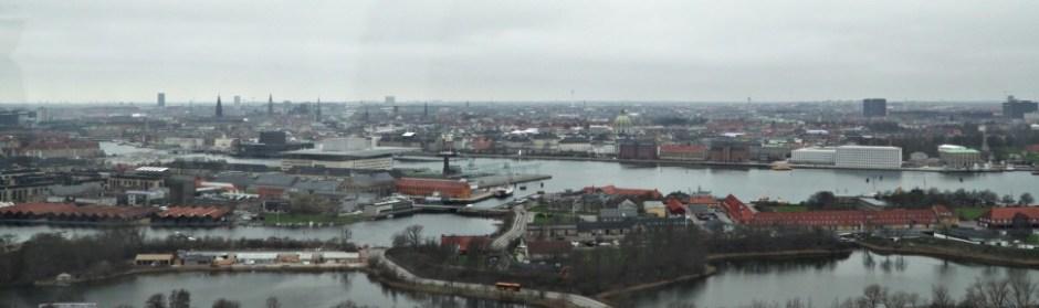 남쪽에서 바라본 코펜하겐 시내 전경 (촬영: 안상욱)