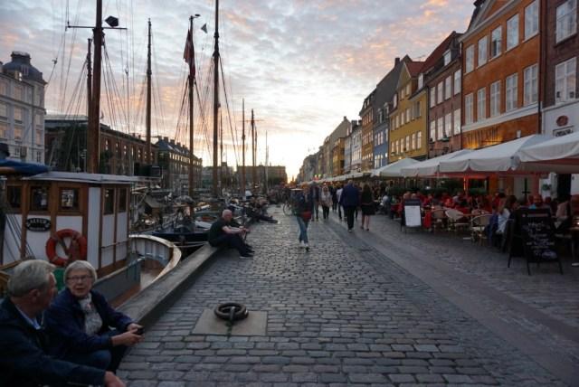 코펜하겐 대표 관광 명소 뉘하운 (촬영: 안상욱)