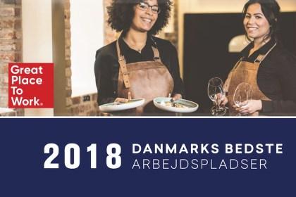 2018년 덴마크 최고 직장은 '압살론 호텔'
