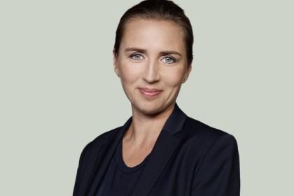 메테 프레데릭센(Mette Frederiksen) 사회민주당(Socialdemokratiet) 대표(사회민주당 제공)