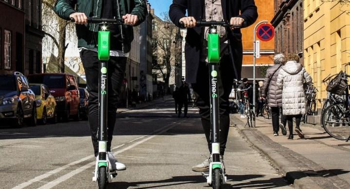 코펜하겐시, 공유 전동킥보드·자전거 운행 규모 제한한다
