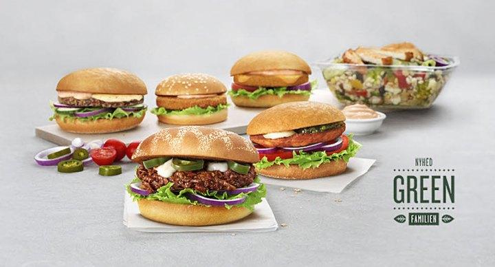 덴마크 맥도널드는 채식 버거 월 4만개 판다