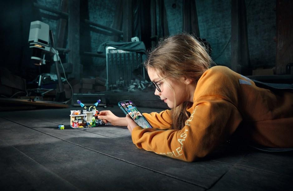 증강현실(AR) 기술을 접목한 레고 히든 사이드(LEGO Hidden Side) 제품 (LEGO Group 제공)