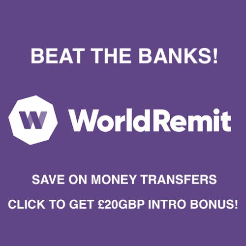 World Remit International Money Transfers