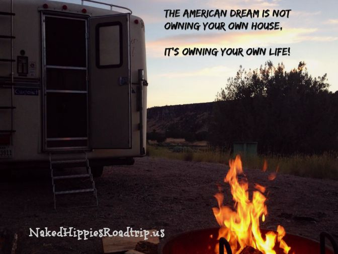Living in a van is a perfect solution if you desire to own your life instead of your life owning you.