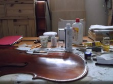 framus cello 18 spirit varnish