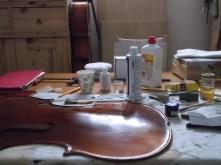 framus cello 18 spirit varnish