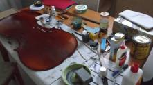 framus cello 19 wool lube and rottenstone