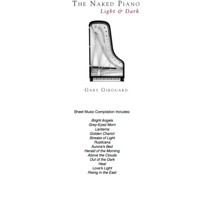Naked Piano Light & Dark Sheet Music Compilation (PDF Download)