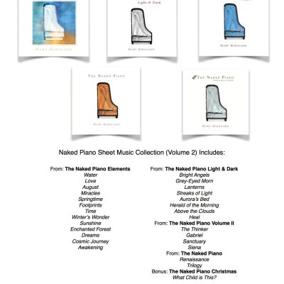Naked Piano Sheet Music Collection – Volume 2 (PDF Download)