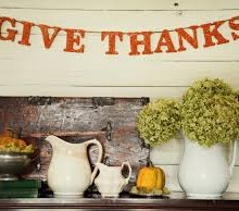 A powerful Thanksgiving habit…