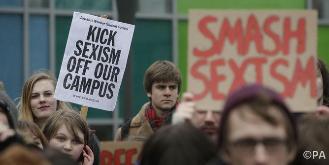 Glasgow University students protest