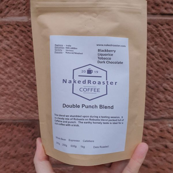 Double punch coffee blend