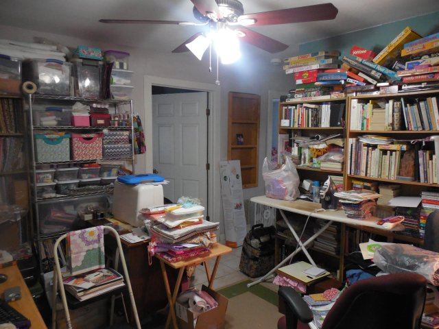 Messy Sewing Space 2