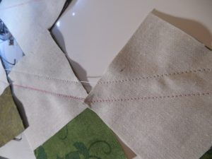 creating mini half square triangles