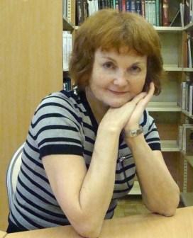 Татьяна Борисовна Буянова, сегодня библиотекарь Санкт-Петебургской библиотеки