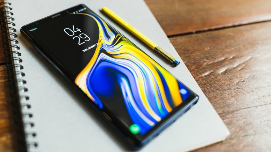 Galaxy Note 10 Android Q