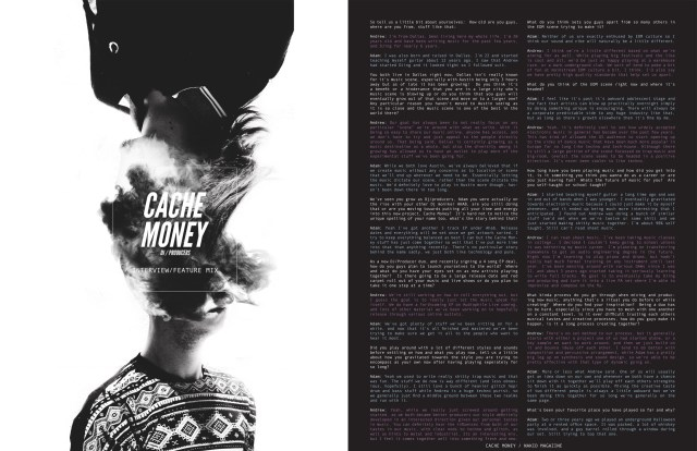 Cache Money - Nakid Magazine - Page 1