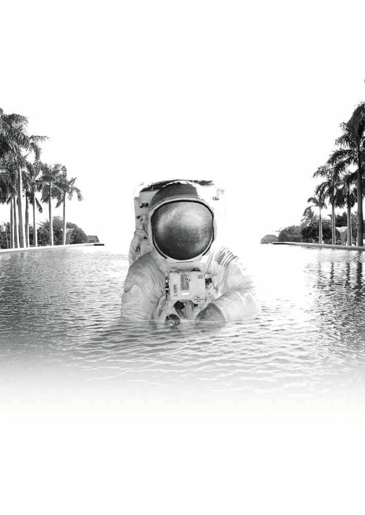 pool astronaut