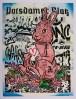 "Aiko, ""Bunny,"" spray paint"