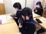 那珂川北中学校・ICT授業の様子