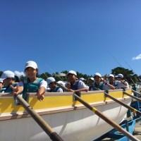 那珂川北中学校 平成29年度 自然教室 カッター訓練