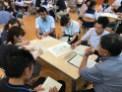 那珂川北中学校 小中合同クリーン作戦の打ち合わせ会