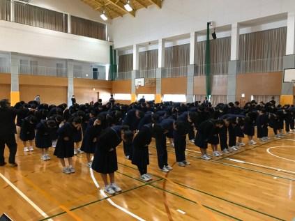 那珂川北中学校 マナー講座
