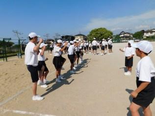 那珂川北中学校 体育祭の練習風景