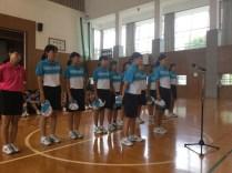 那珂川北中学校 選手激励会