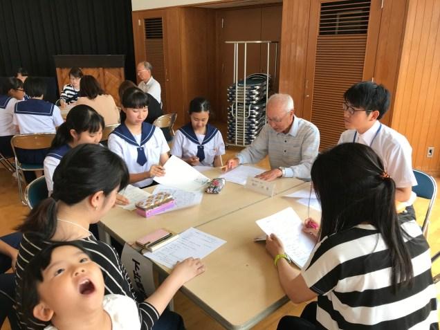 那珂川北中学校 クリーン作戦の打ち合わせ