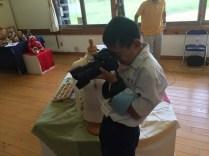 那珂川北中学校 2年生の職業体験