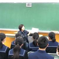 那珂川北中学校 読書ボランティア