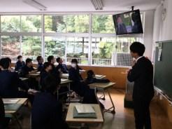 那珂川北中学校 第16回卒業証書授与式