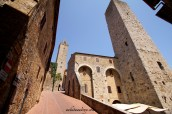 Medieval details in San Gimignano