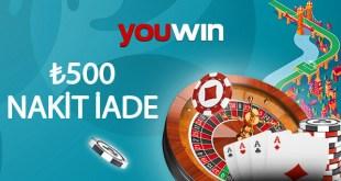 youwin casino kayıp iade
