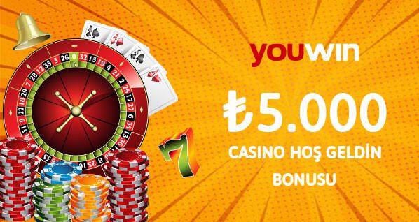 ₺5000 casino hoş geldin bonusu