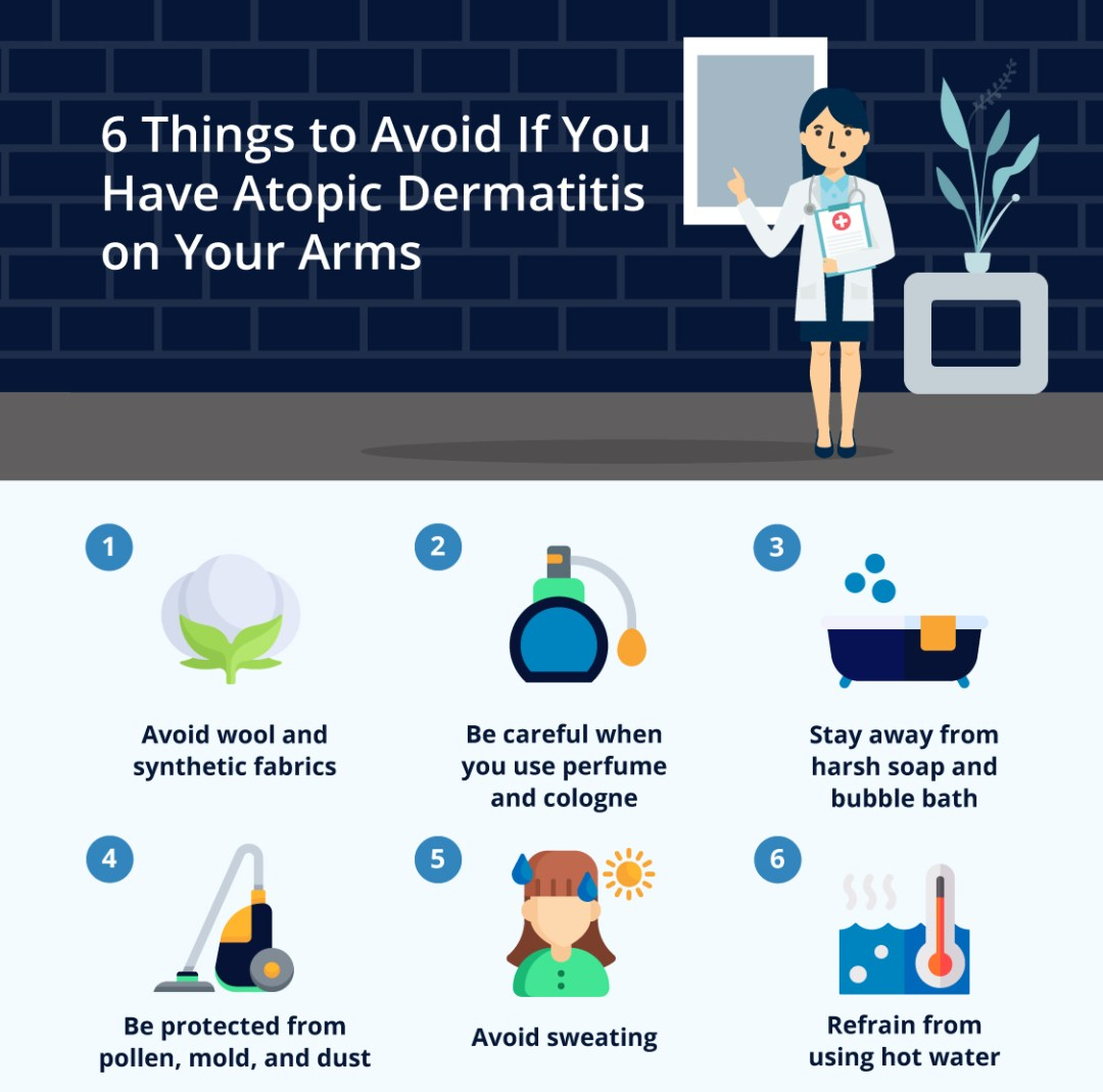 6-Things-to-Avoid-if-You-Have-Atopic-Dermatitis-on-Your-Arms