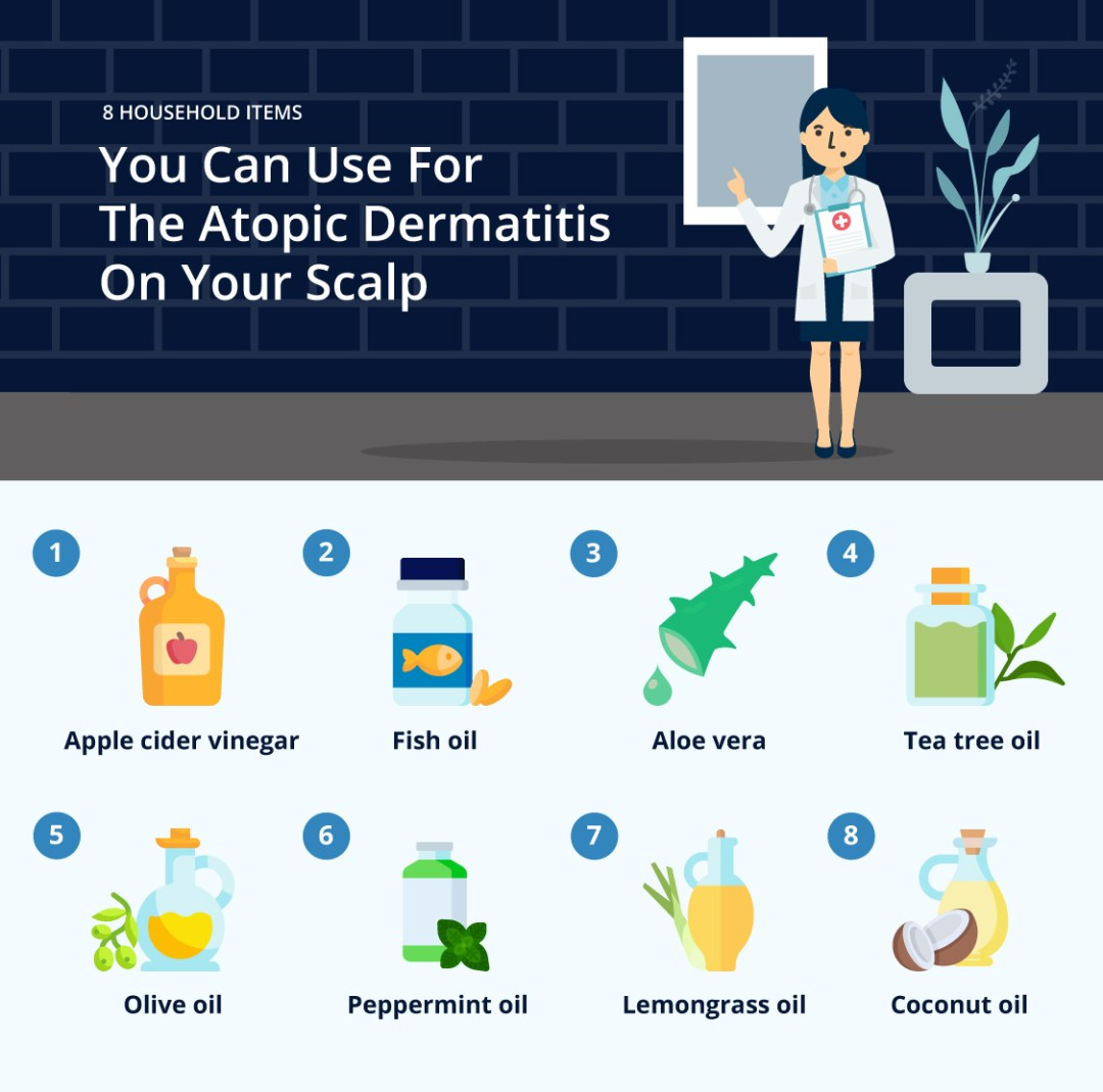 You Can Use For The Atopic Dermatitis On Your Scalp