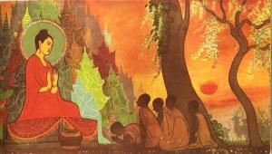 Buddha e os primeiros discípulos