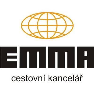 cestovní kancelář EMMA logo