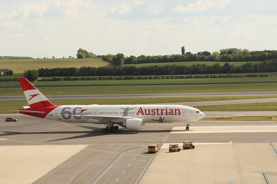 letadlo austria airlines