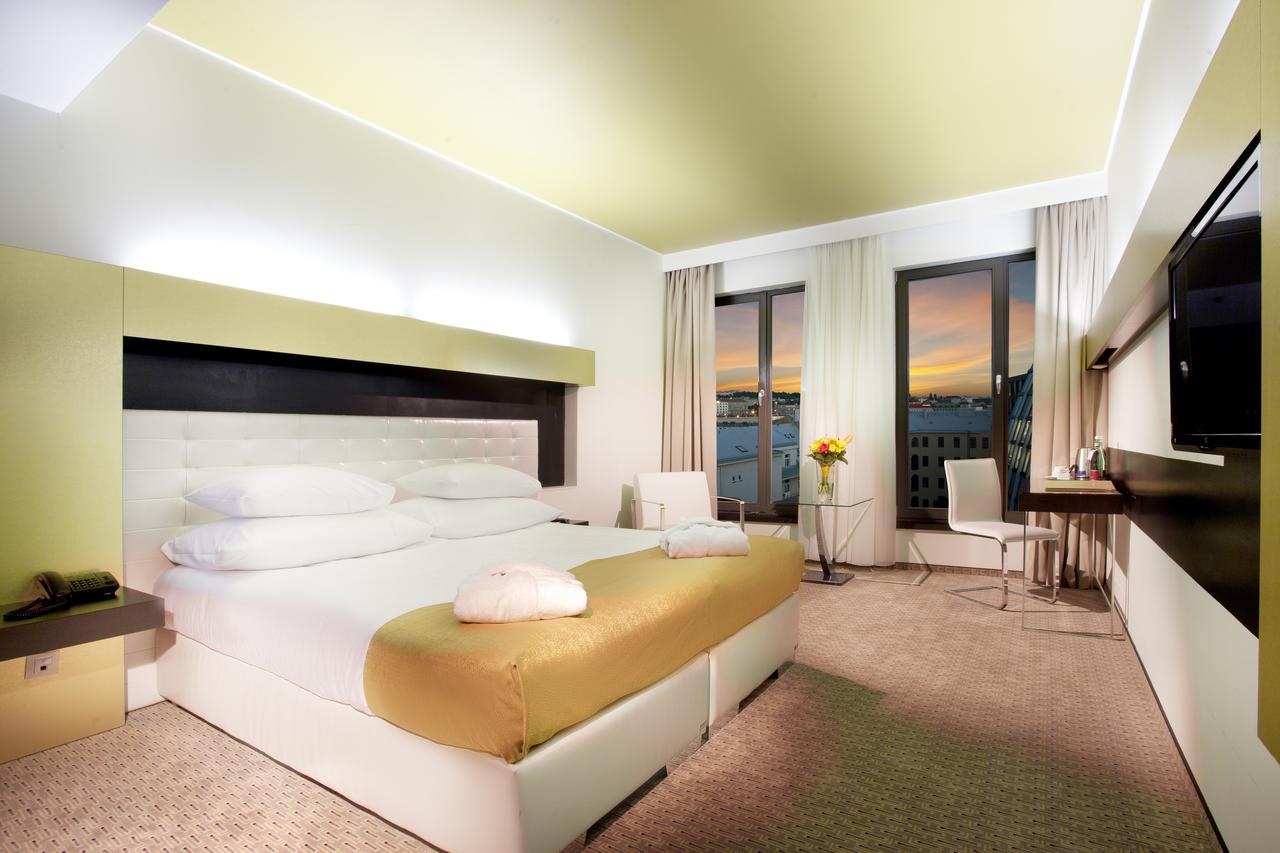Luxusní pokoj v Grandior Hotel Prague